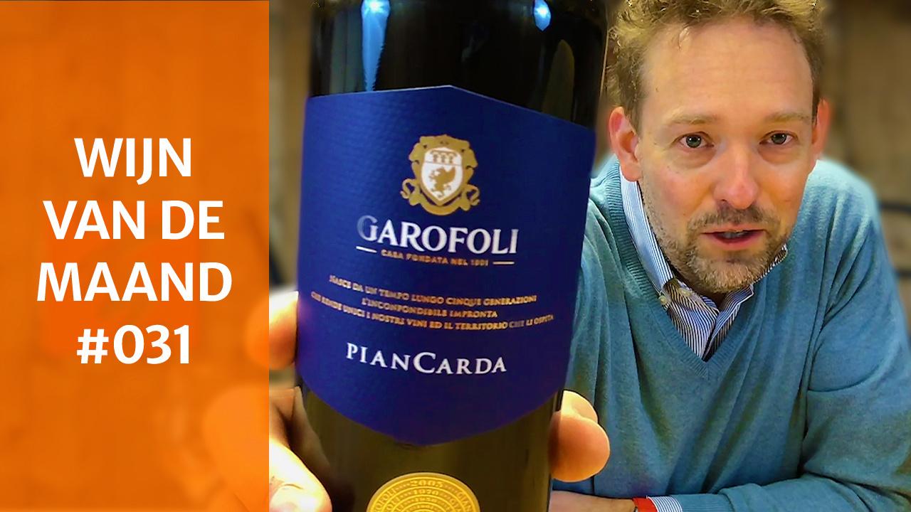 Wijn Van De Maand #031 (Februari) - Garofoli Piancarda