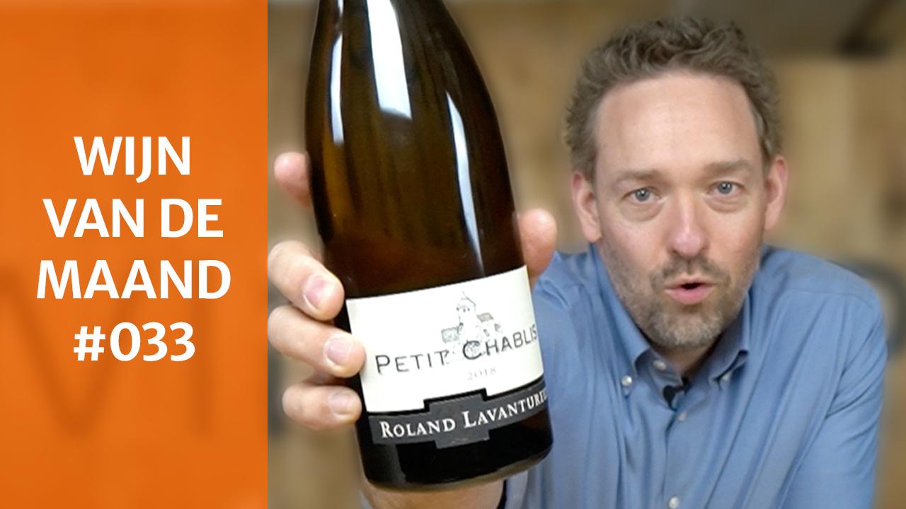 Wijn Van De Maand #033 (April) - Domaine Roland Lavantureux Petit Chablis