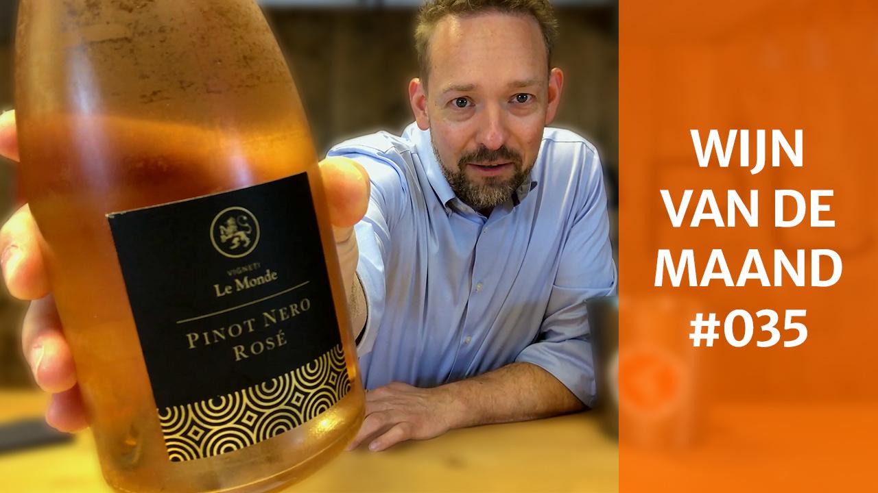 Wijn Van De Maand #035 (Juni) - Le Monde Pinot Nero Rosé