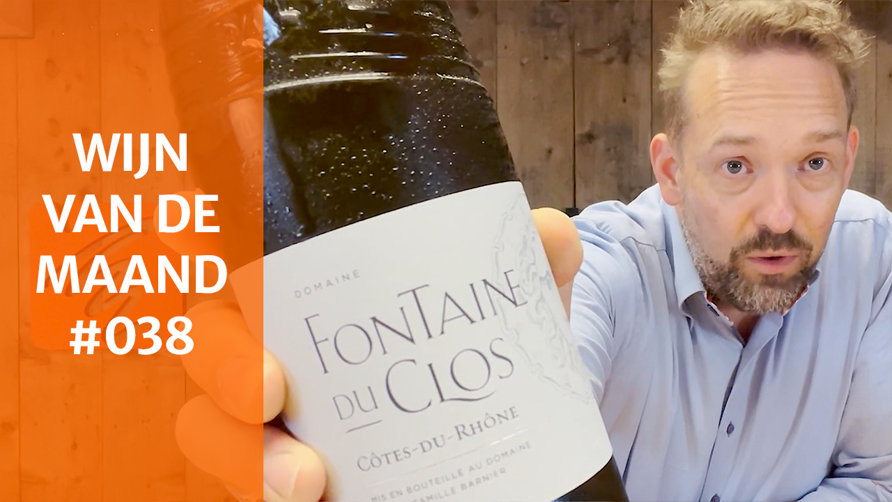 Wijn Van De Maand #038 (September) - Domaine Fontaine du Clos Côtes du Rhône Blanc [wit]