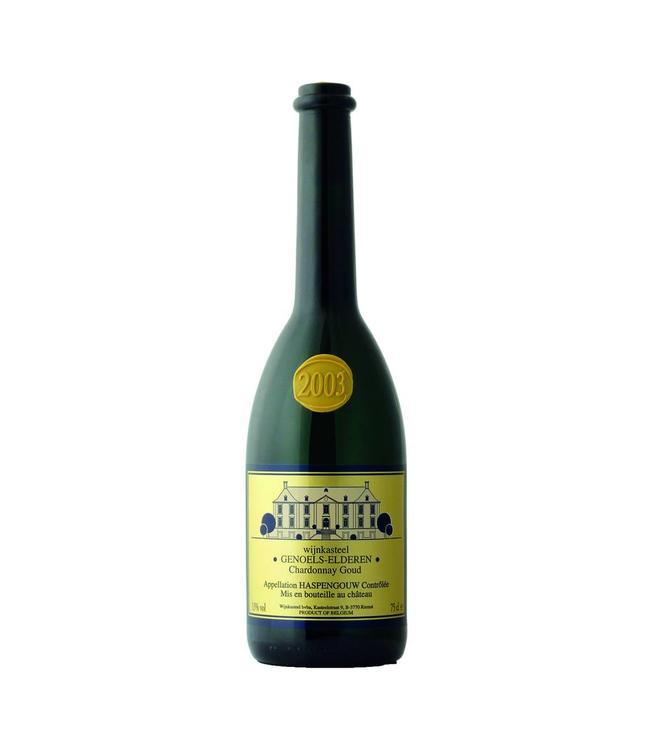 Wijnkasteel Genoels Elderen Chardonnay Goud 0,750L Wit