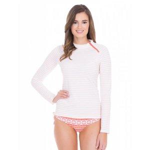 Cabana Life UV Shirt Coral Stripe
