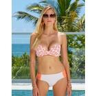 Cabana Life UV Bikini Bottom Coral Stripe