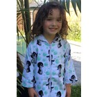 Back Beach Co Kids Beach Robe White Penguin