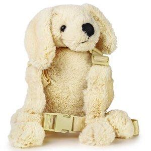 Goldbug Kindertuigje met looplijn Witte Puppy