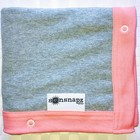 Sunsnapz Sun protection blanket coral and grey