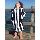 Back Beach Co Kids Beach Robe Classic Stripe