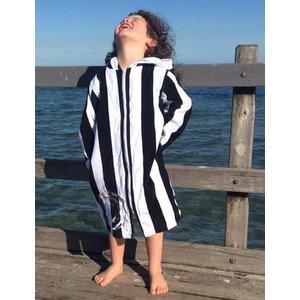 Back Beach Co Kids Beach Robe Classic Stripe