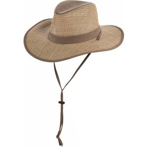 Dorfman Pacific UV Hat Fedora Safari