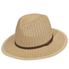 Dorfman Pacific UV Hat Natural