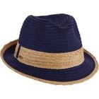 Dorfman Pacific Hat Fedora Darkblue