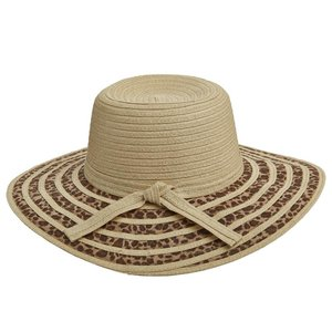 Dorfman Pacific Hat Leopard Natural