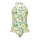 Snapper Rock Swimsuit Lemon