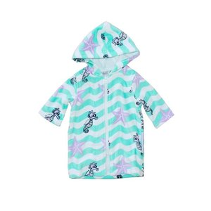 Back Beach Co Kids Beach Robe Sea Baby Pink