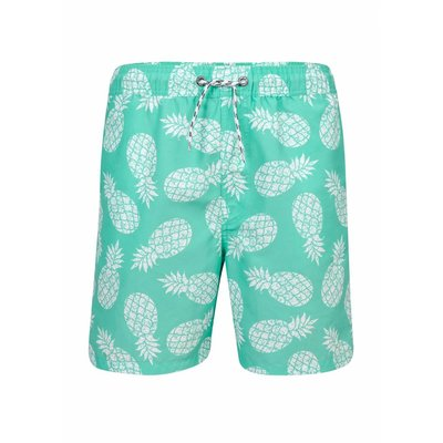 Snapper Rock Vader-Zoon Zwemshort Pineapple