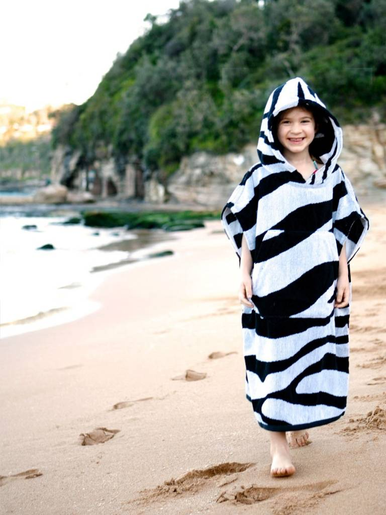 Terry Rich Australia Surf Poncho - Changing Robe Navy