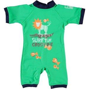 Sonpakkie Baby UV Surf the Croc (green and darkblue)