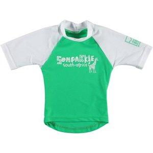 Sonpakkie UV Swim Shirt 'Safari' (green & white)