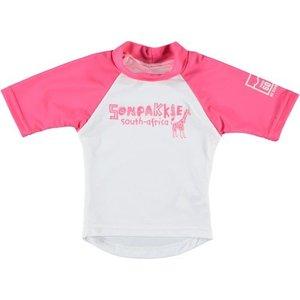 Sonpakkie UV Swim Shirt 'Safari' (pink & white)