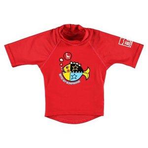 Sonpakkie UV Swim Shirt Bold Fish Red