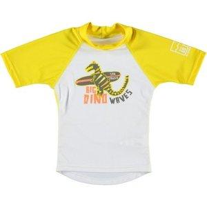 Sonpakkie UV Swim Shirt 'Cute Flower' (yellow & white)