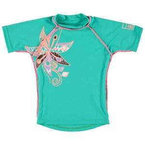 Sonpakkie UV Swim Shirt 'African flower' for girls