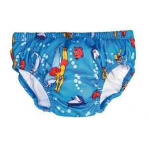 Beco Zwemluier Dolfijntjes motief blauw
