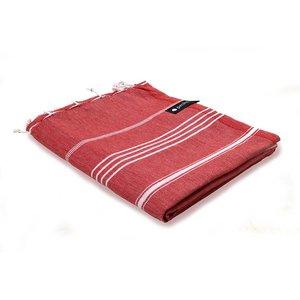 Peshs. Hammam Towel Red