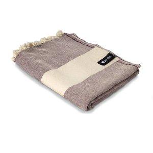 Peshs. Hammam Towel Belhara Aubergine