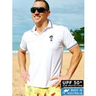 Terry Rich Australia UV Polo Korte mouwen wit
