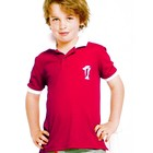 Terry Rich Australia UV Polo boys short sleeve red