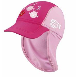 Beco UV-Suncap Sealife Pink