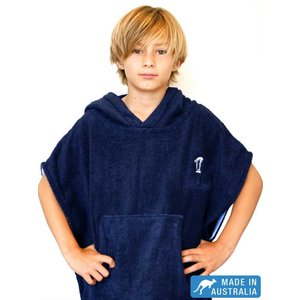 Terry Rich Australia Kinder Poncho Navy