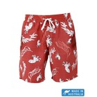 Terry Rich Australia Board Short (Father-Son) Octopus In Red
