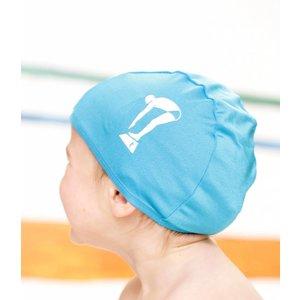 Terry Rich Australia Blue Swim Cap for kids