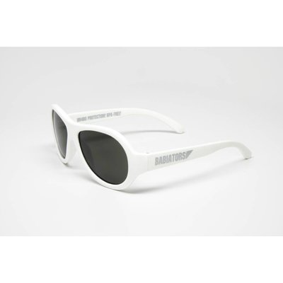 Babiators Kids Aviator Sunglasses Wicked White