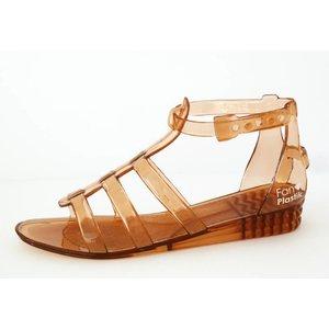 Fanplastik Water shoe for women Brown