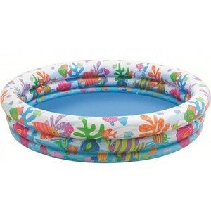 Intex Kinderzwembad met vissenprint