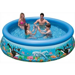 Intex Zwembad Easy Set Ocean Reef Ø 366