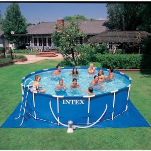 Intex Metal Frame Pool 457 x 122 cm