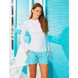 Cabana Life UV Shirt Scallop Wit