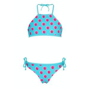 Snapper Rock Halter Bikini Aquaberry