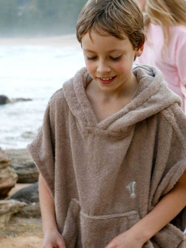Terry Rich Australia Surf Poncho - Changing Robe Stone
