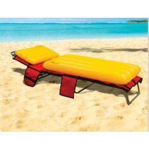 Beach Bag Plus Strandtas met lounger