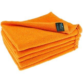 Gastendoek oranje 40x50 cm