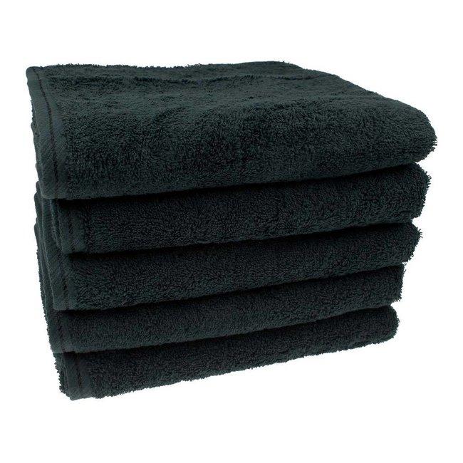 Handdoek Zwart 50x100