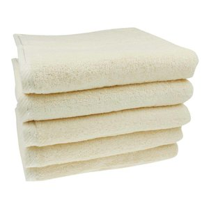 Handdoek Crème 50x100