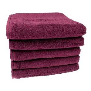 Handdoek Aubergine 50x100