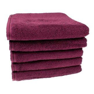 Handdoek Aubergine 50x100 cm