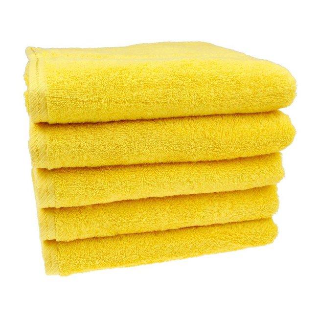 Handdoek Geel 50x100 cm
